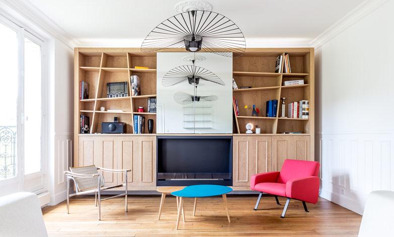 Étude de cas : moderniser un appartement haussmannien de 3 pièces et 63m2