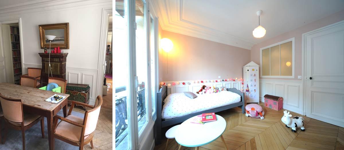 Aménagement d'une chambre d'enfant par un architecte d'intérieur