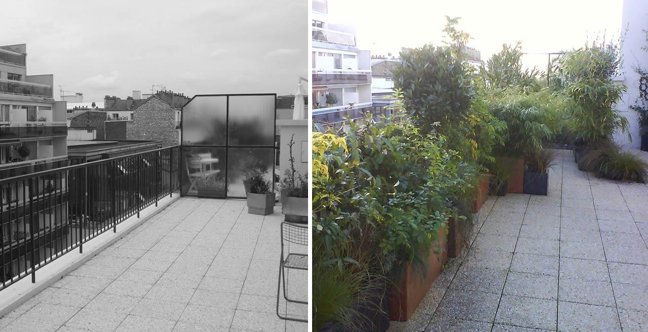 Aménagement d\'une terrasse | Toulouse