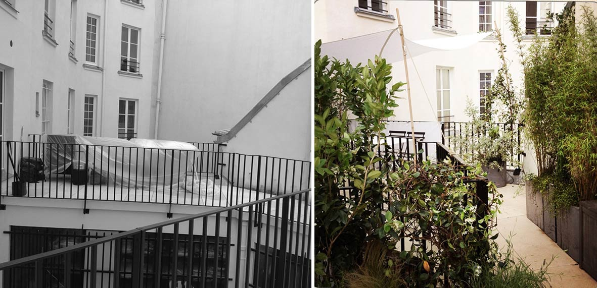 Am nagement d 39 une terrasse en ville - Amenagement d une terrasse ...