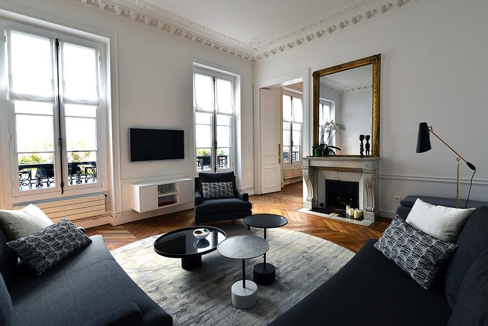 Haussmann Paris Apartment