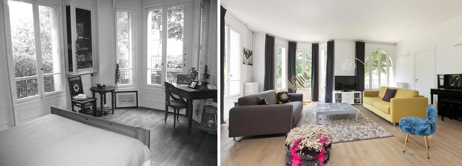 relooking d 39 int rieur d 39 une maison individuelle de 5. Black Bedroom Furniture Sets. Home Design Ideas