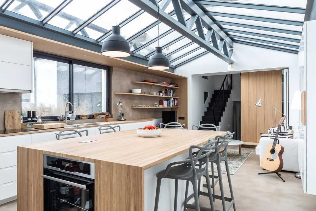 Architecte Interieur Paris Petite Surface restructuration totale d'un loft industriel | créateurs d