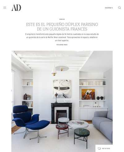 Article du magazine Vogue living
